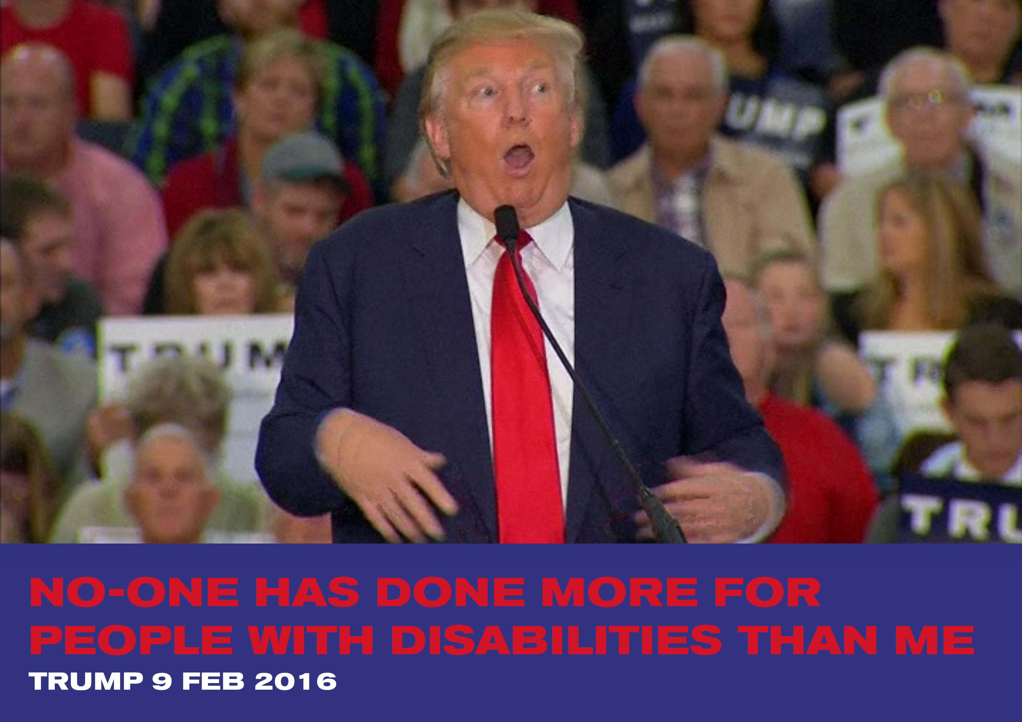 trump mocked a disabled reporter